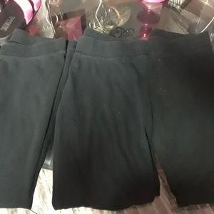 3 pairs of basic essential leggings
